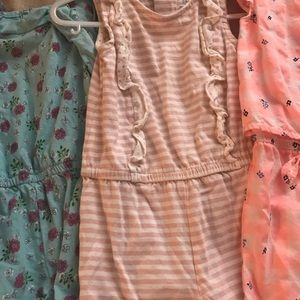 Carter's One Pieces - Bundle of 24 month girls rompers